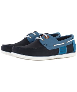 Men's Barbour Capstan Boat Shoes - Double Blue