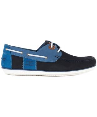 Men's Barbour Capstan Boat Shoes - DOUBLE BLUE