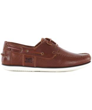 Men's Barbour Capstan Boat Shoes - TAN PRINT