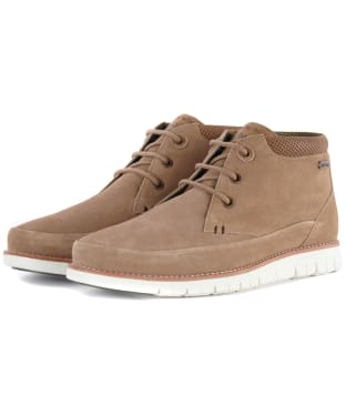 Men's Barbour Nelson Suede Chukka Boots - Sand Suede