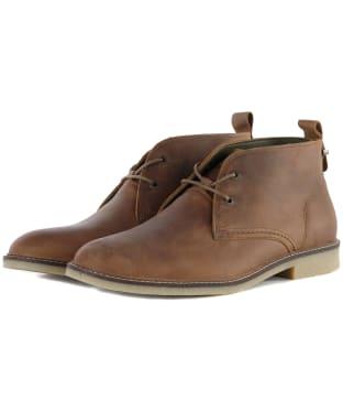 Men's Barbour Nevada Desert Chukka Boots - Beige