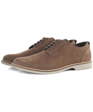 Men's Barbour Raby Derby Shoes - Taupe