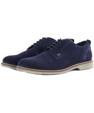 Men's Barbour Raby Derby Shoes - Ink Blue