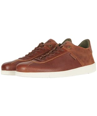 Men's Barbour Bushtail Trainers - Cognac