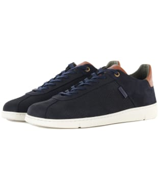 Men's Barbour Bushtail Trainers - Navy