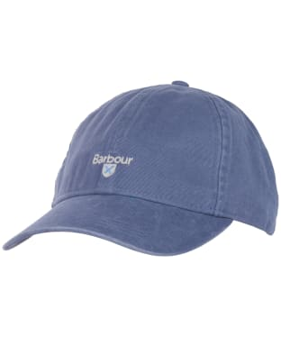 Men's Barbour Cascade Sports Cap - Washed Blue