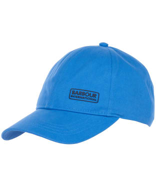 Men's Barbour International Norton Drill Cap - Pure Blue