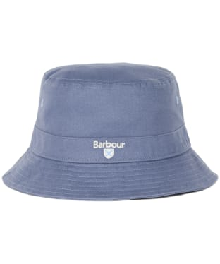 Men's Barbour Cascade Bucket Hat - Washed Blue