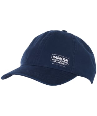 Men's Barbour International Steve McQueen Racer Cap - Dark Petrol