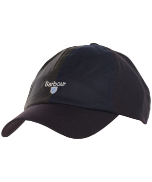 Men's Barbour Alderton Sports Cap - Olive / Navy / Rust