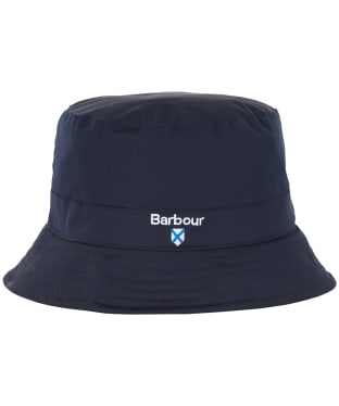 Men's Barbour Crest Waterproof Sports Hat - Navy