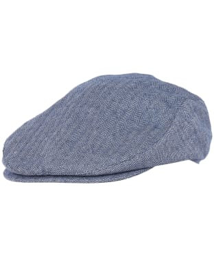 Men's Barbour Fulton Flat Cap - Inky Blue