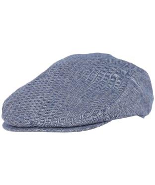 Men's Barbour Fulton Flat Cap - Inky Blue