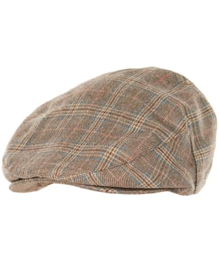 Men's Barbour Ashford Flat Cap - Olive