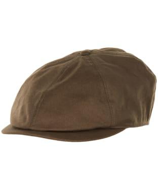 Men's Barbour Finnean Bakerboy Cap - Olive