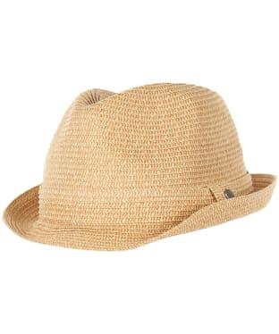 Men's Barbour Seaburn Trilby Hat - Natural