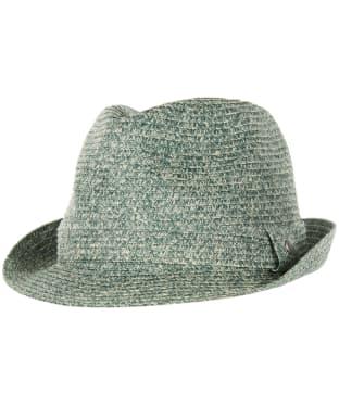 Men's Barbour Seaburn Trilby Hat - Navy