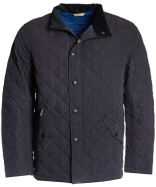 Men's Barbour Shoveler Quilted Jacket - Navy