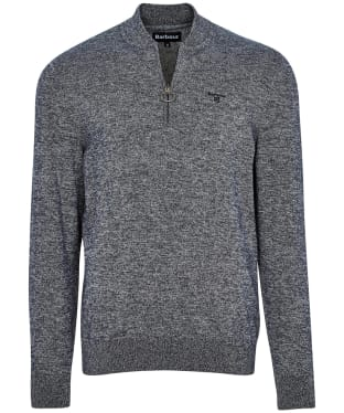 Men's Barbour Sports Half Zip Knit - Navy