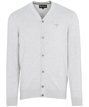Men's Barbour Cotton Cardigan - Grey Marl