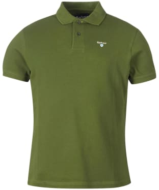Men's Barbour Sports Polo 215G - Rifle Green