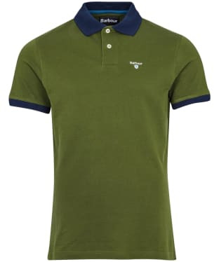 Men's Barbour Lynton Polo - Rifle Green
