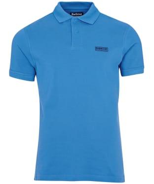 Men's Barbour International Essential Polo - Pure Blue
