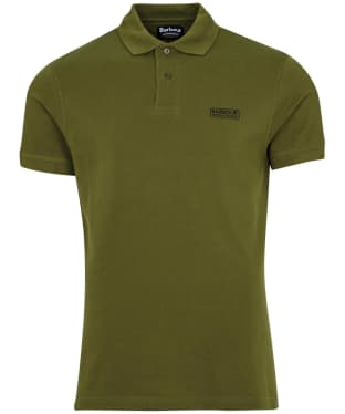 Men's Barbour International Essential Polo - Vintage Green
