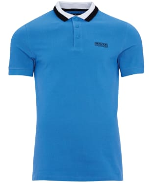 Men's Barbour International Ampere Polo - Pure Blue