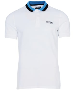 Men's Barbour International Ampere Polo - New White