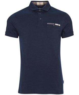 Men's Barbour Corpatch Polo Shirt - New Navy