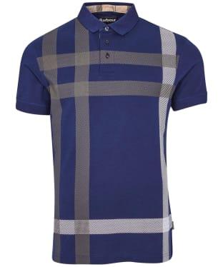 Men's Barbour Blaine Polo Shirt - Regal Blue