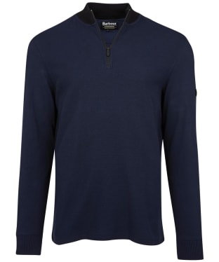Men's Barbour International Reducer Half Zip Sweater - Navy