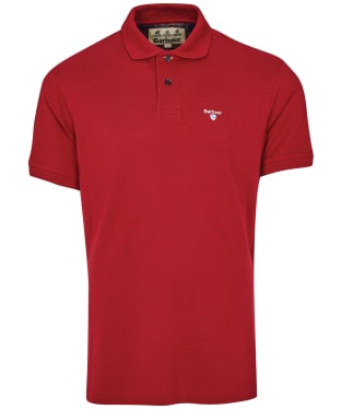 Men's Barbour Brow Polo Shirt - Lobster Red