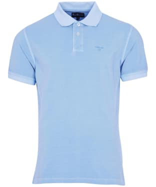 Men's Barbour Washed Sports Polo Shirt - Sky