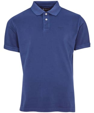 Men's Barbour Washed Sports Polo Shirt - Navy