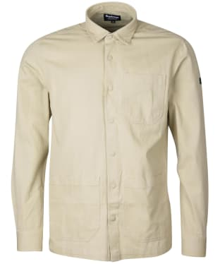 Men's Barbour International Worker Overshirt - Washed Stone