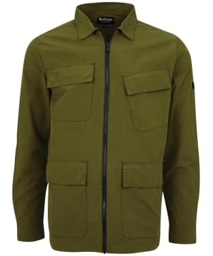 Men's Barbour International Rally Ripstop Overshirt - Vintage Green