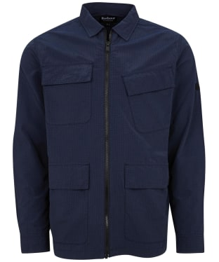 Men's Barbour International Rally Ripstop Overshirt - Navy