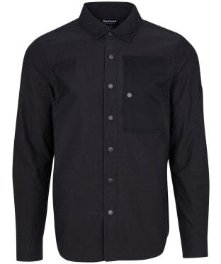 Men's Barbour International Asset Overshirt - Black