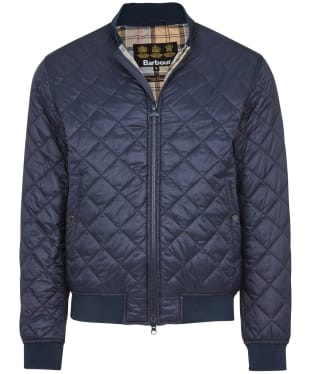 Men's Barbour Gabble Quilted Jacket - New Navy