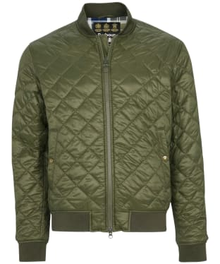 Men's Barbour Gabble Quilted Jacket - Olive