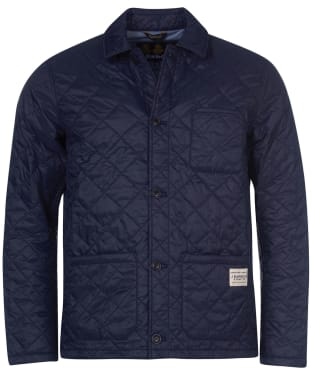 Men's Barbour Soval Quilted Jacket - Navy