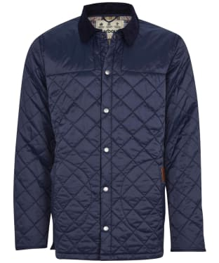 Men's Barbour Thornhill Quilted Jacket - Navy