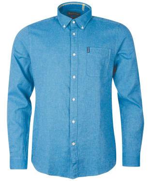 Men's Barbour Milton Shirt - Aqua