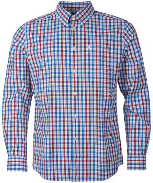 Men's Barbour Hallhill Performance Shirt - Red Check