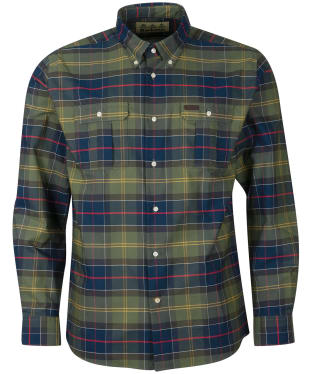 Men's Barbour Fulton Coolmax Shirt - Barbour Classic
