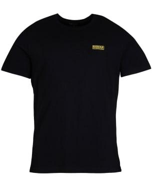 Men's Barbour International Essential Small Logo T-Shirt - Black