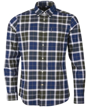Men's Barbour Tartan 11 Tailored Shirt - Sage