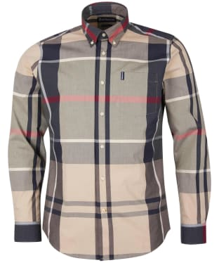 Men's Barbour Tartan 12 Tailored Shirt - Stone